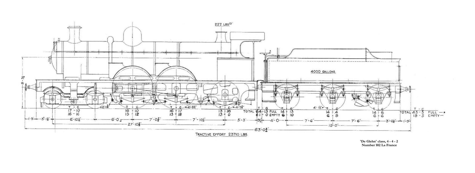A Selection Of Great Western Railway Locomotive Drawings 03 Jetta 2 0 Engine Diagram