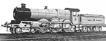 'Castle' class number 111 rebuilt using some parts from the Great Bear