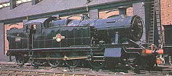 7200 class number 7200 outside Swindon works