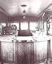 The buffet bar of railcar number 2