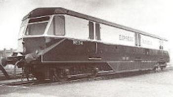 Express parcels railcar number 34