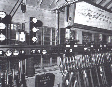 Maidenhead West Signalbox in 1961