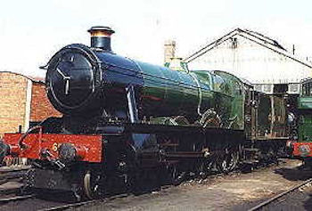'Hall' class no. 6998 Burton Agnes Hall