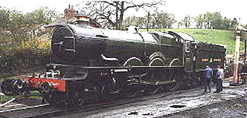 Great Western steam locomotives - 'Castle' class index