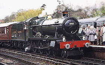 'Hall' class no. 6960 Raveningham Hall