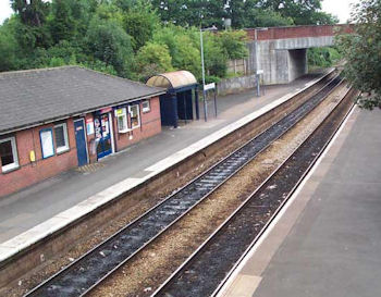 Droitwich Spa Station today