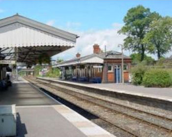 Evesham Station today