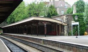 Great Malvern Station today