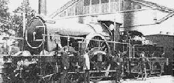 'Rover' class 8ft single named 'Amazon' built in 1878
