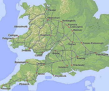 The Great Western Railway system