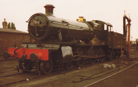 'Manor' class no. 7812 Erlestoke Manor