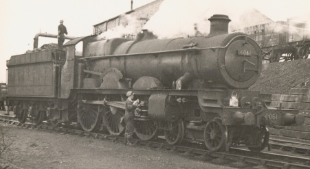 'Star' class no. 4061 Glastonbury Abbey