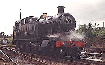 Restored '5205' class number  5224 pictured at Loughborough