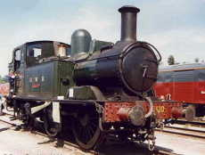 '1400' class number 1420 pictured at the Railway Heritage Centre
